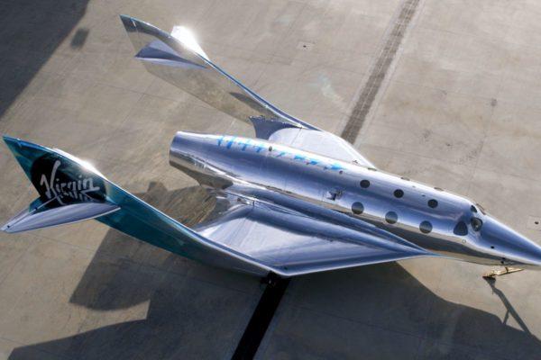 Virgin Galactic công bố mẫu máy bay vũ trụ mới