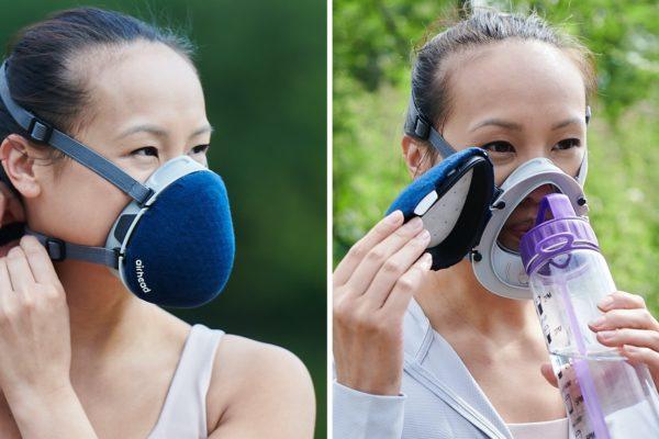 Airhead Mask: Khẩu trang đa lớp mang thiết kế dễ chịu cho người đeo