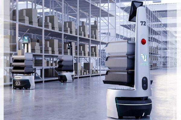 Ottobo: Robot làm việc trong kho hàng với công nghệ vận hành trực tuyến và tối ưu hóa năng suất