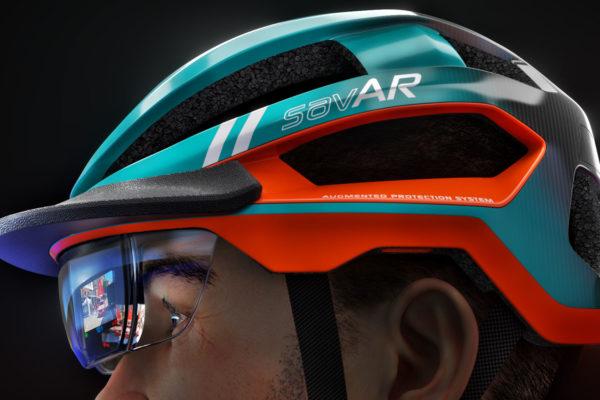 Mũ bảo hiểm xe đạp với khả năng nhận biết không gian, giảm các tai nạn không đáng có