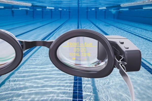 Holoswim : Kính bơi thông minh hỗ trợ đắc lực cho người bơi