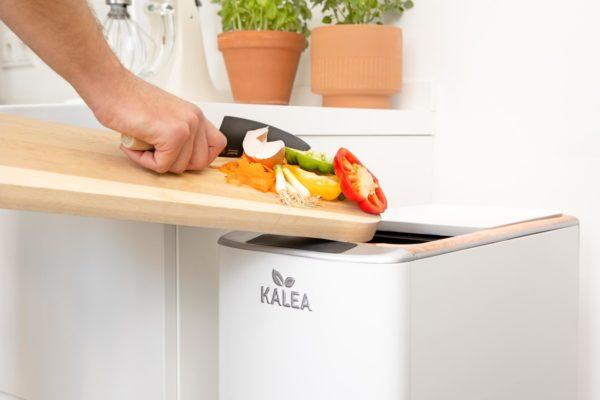 Kalea : Tiện ích nhà bếp chuyển thức ăn thừa thành phân trộn trong 48 giờ