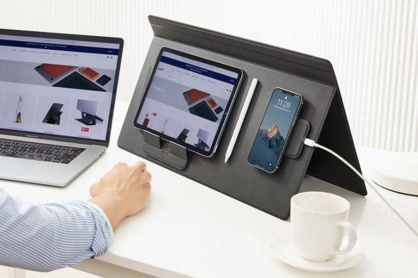 MOFT : Tấm lót bàn liên kết nhiều thiết bị thông minh thành một khối gắn kết khi làm việc