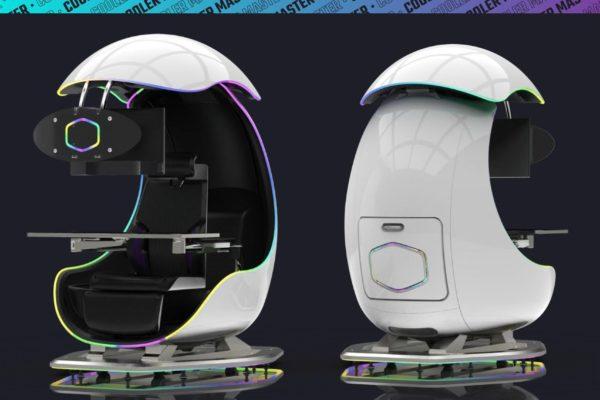 ORB X GamePod – Bộ ghế chơi game khoa học viễn tưởng đến từ Cooler Master