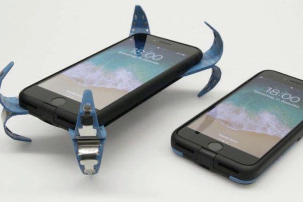 Ốp lưng có cánh cho điện thoại không lo bể màn hình khi rơi xuống đẩt